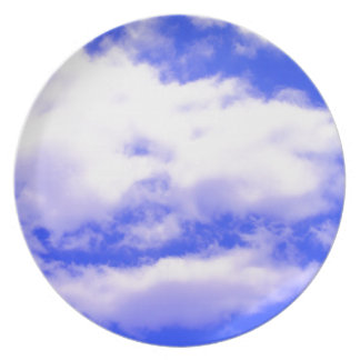 Clouds Dinner Plate