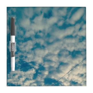 Clouds dry erase board 4