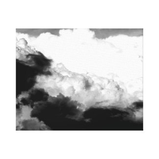 Clouds Everywhere Canvas Print