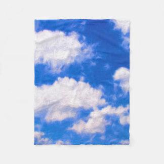 Clouds Fleece Blanket (30 in x 40 in)