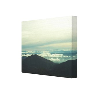 Clouds Floating Above the San Bernardino Valley Stretched Canvas Prints
