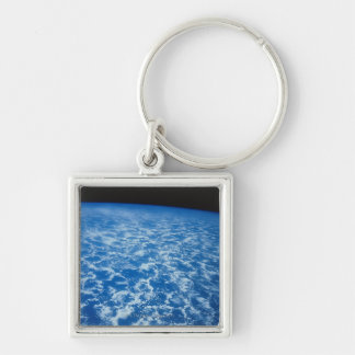 Clouds from Space Keychain
