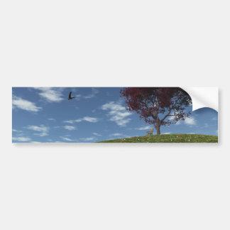 Clouds Go Sailing By Bumper Sticker