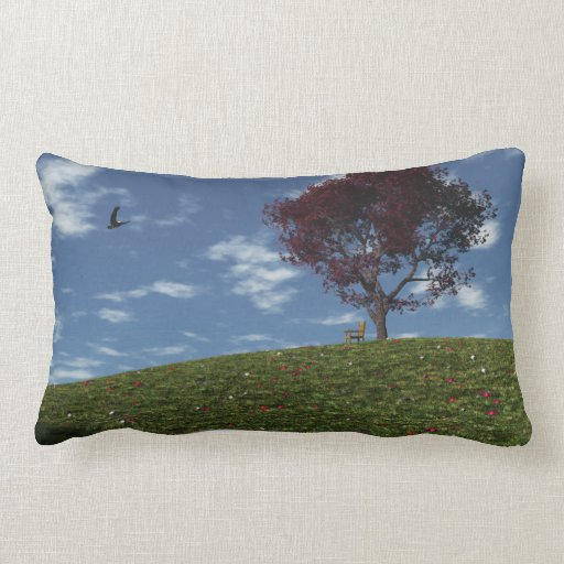 Clouds Go Sailing By Pillow