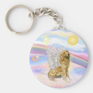 Clouds - Golden Retriever (B1) Angel Keychain