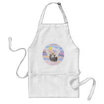 Clouds - Guinea Pig Angel (#2) Adult Apron