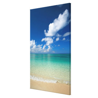 Clouds Hovering above Sea Canvas Print