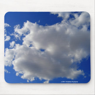 CLOUDS IN A BLUE SKY MOUSE PAD
