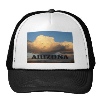 Clouds in Arizona with Saguaro Cactus Trucker Hat