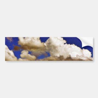 Clouds In Blue Sky Bumper Sticker