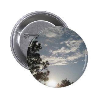 Clouds in the Sky 2 Inch Round Button