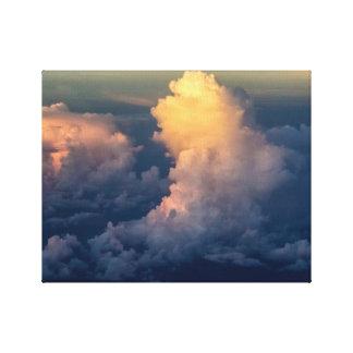 Clouds in the sky Cloudscape Canvas Print