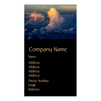 Clouds in the sky Cloudscape Double-Sided Standard Business Cards (Pack Of 100)