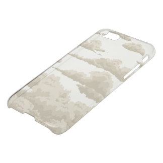clouds in the sky in vintag iPhone 7 case