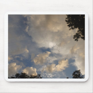 Clouds in the Sky Mouse Pad