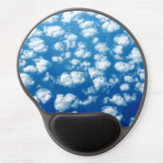 Clouds in the sky pattern gel mouse pad