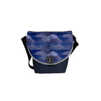 Clouds in the Sky Purse Courier Bag