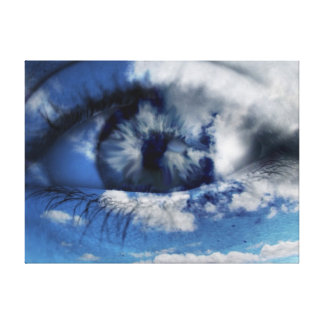 clouds in view gallery wrap canvas