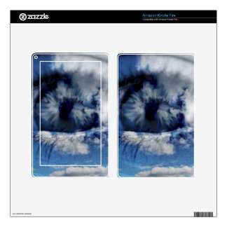 clouds in view kindle fire decal