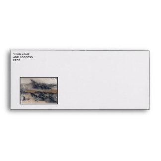 Clouds! (Inverted/Negative Image) Envelope