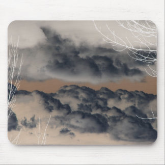 Clouds! (Inverted/Negative Image) Mouse Pad