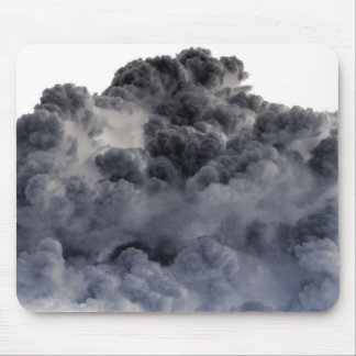 Clouds Inverted Negative Image Mouse Pads