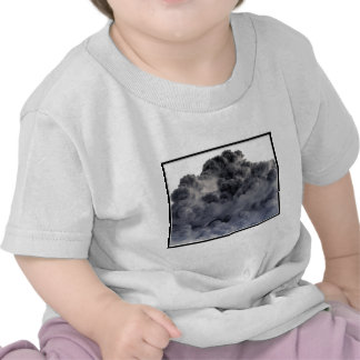Clouds! (Inverted/Negative Image) T-shirts
