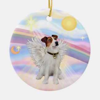 Clouds - Jack Russell Terrier Ceramic Ornament