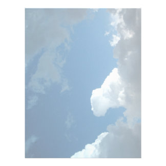 Clouds Letterhead