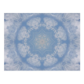 Clouds Mandala Postcard