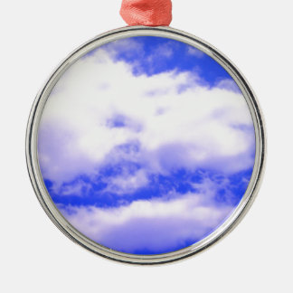 Clouds Metal Ornament