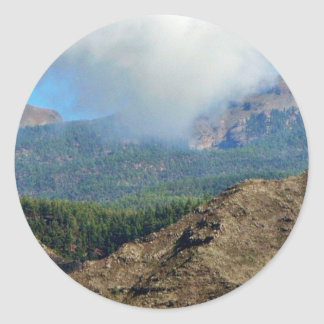 Clouds Mountains And Forests Stickers