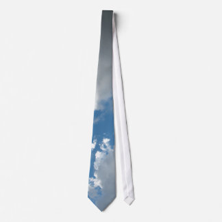 clouds neck tie