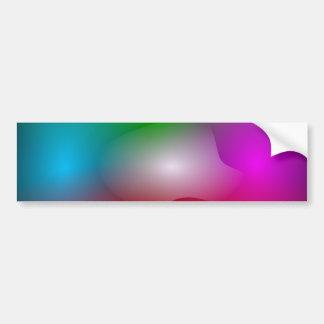 Clouds of Colors Bumper Sticker
