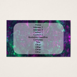 """""""Clouds of Confusion"""" Fractal Art Business Card"""