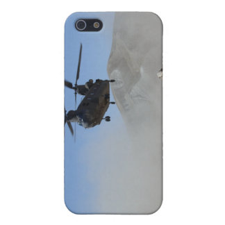 Clouds of dust kicked up by the rotor wash cover for iPhone SE/5/5s
