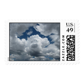 Clouds on a Lazy Afternoon (1) Postage Stamps