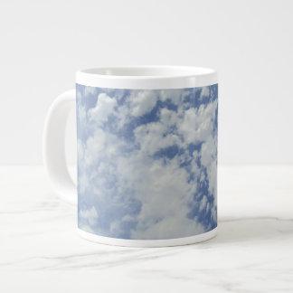 Clouds on Blue Sky Jumbo Mug