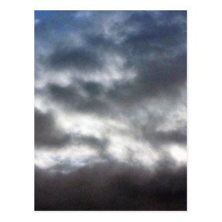 Clouds On Sky Postcard