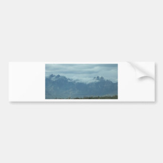 Clouds on the Hills Bumper Sticker