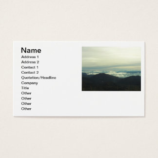Clouds On The Rim Business Card