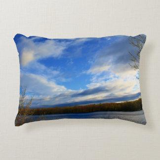 Clouds Open Up Decorative Pillow