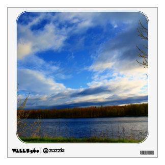 Clouds Open Up Wall Sticker