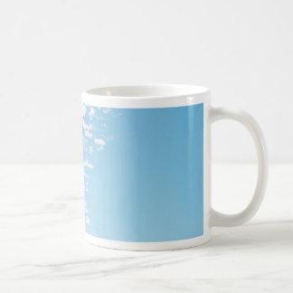 Clouds over a pasture coffee mug