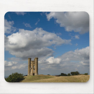 Clouds over Broadway Tower, Cotswolds mousepad
