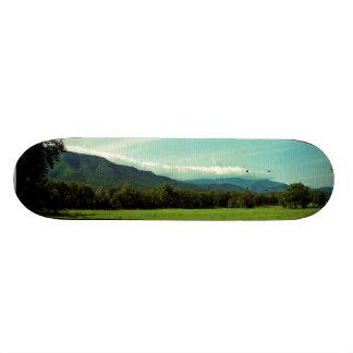 Clouds Over Cades Cove Skateboard