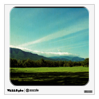 Clouds Over Cades Cove Wall Decal