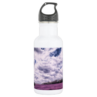 Clouds Over Candy Fields 18oz Water Bottle
