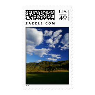 Clouds over Clinch Mountain Stamp
