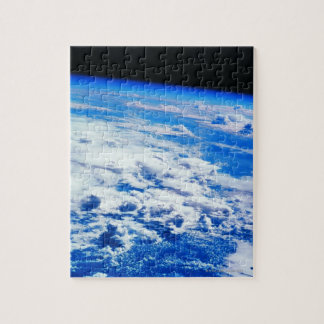 Clouds over Earth Jigsaw Puzzle